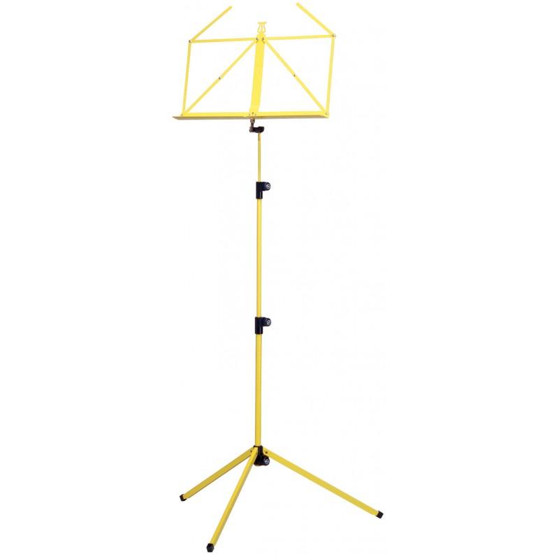 KM 100/1 Folding Music Stand Yellow
