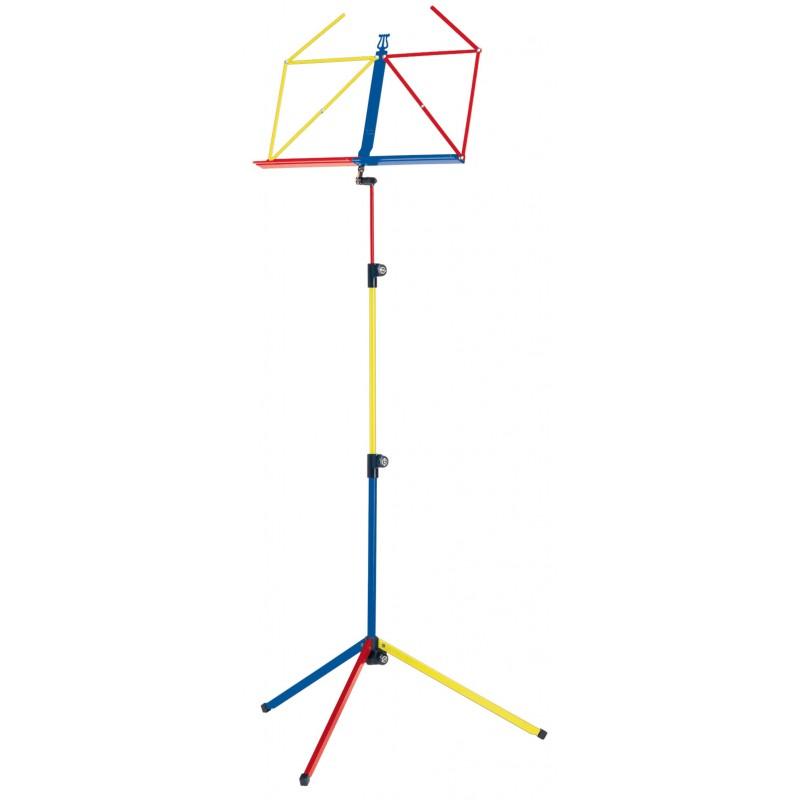 KM 100/1 Folding Music Stand Rainbow