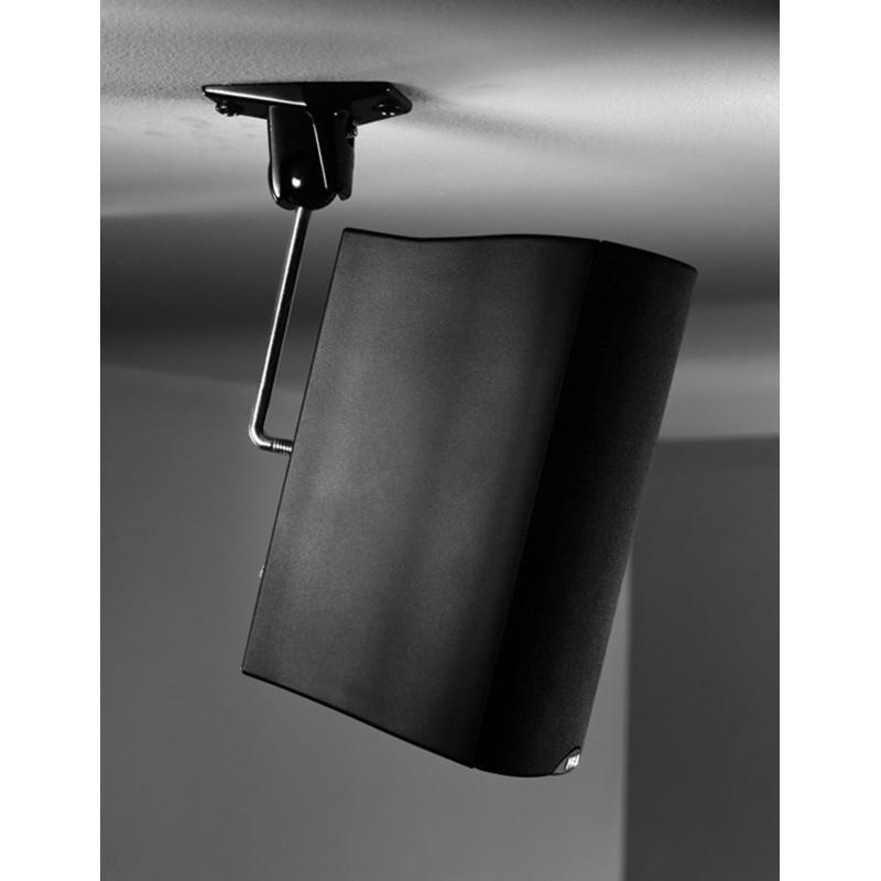 OM  10.0 WALL/CEILING Black Small Speaker Mount