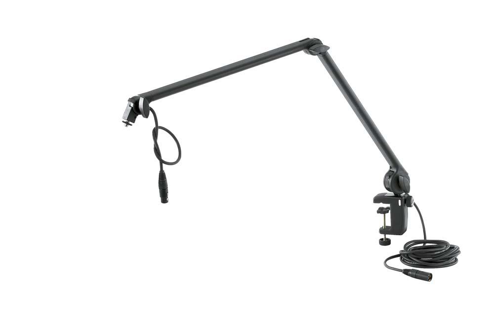 KM 23862 Mic Desk Arm With Flange